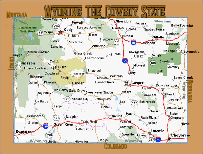Yellowstone Cabins Wyoming Lodging Pahaska Tepee Resort WY - Yellowstone us map